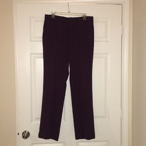 Banana Republic pants in eggplant